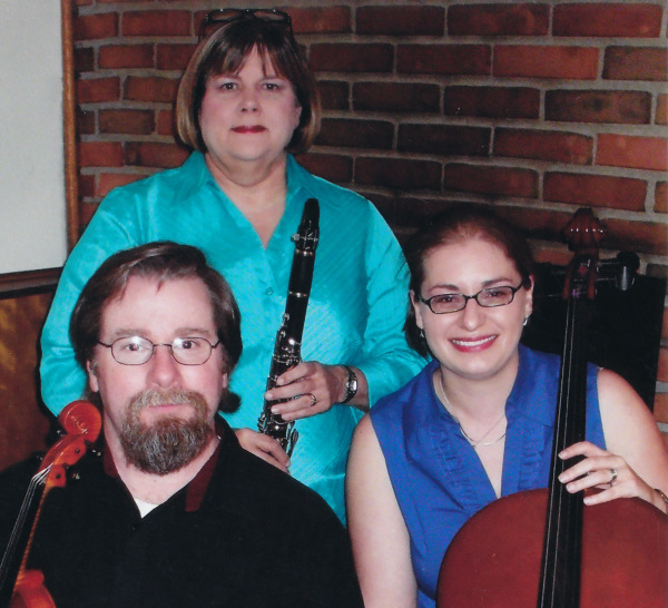 The Trio (From left to right: Eric Kirsten, Judy Long, Candice Casto)
